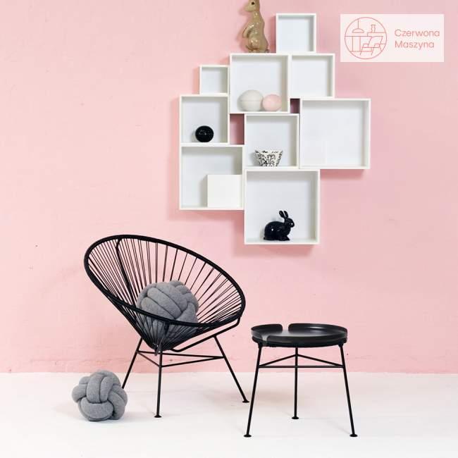 Fotel OK Design Condesa, czarny