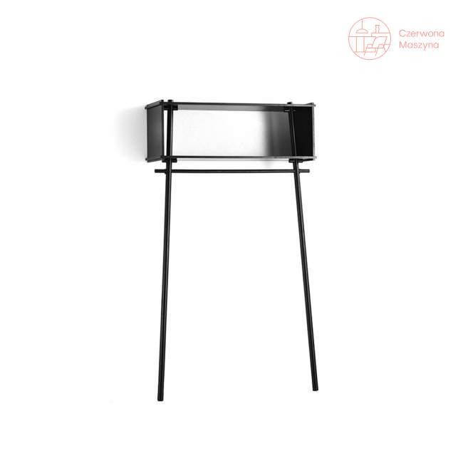 Garderoba Woud Töjbox 112 cm, czarna