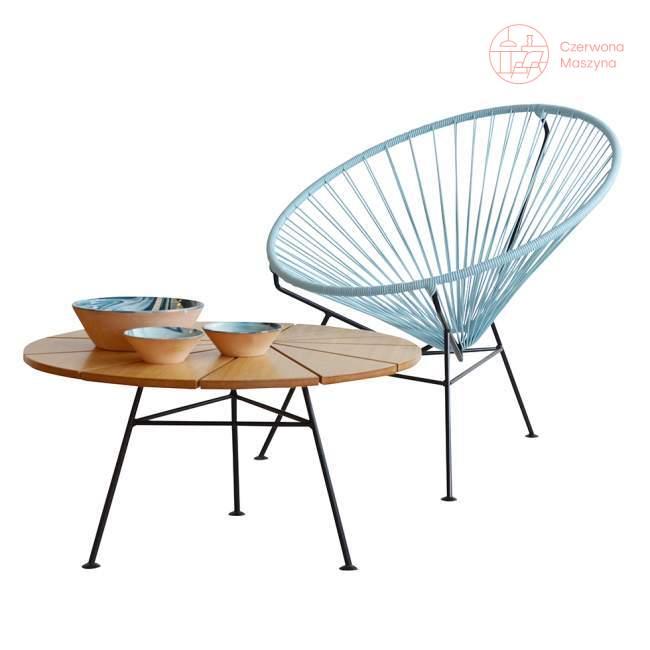 Fotel OK Design Condesa, gołąbkowy niebieski