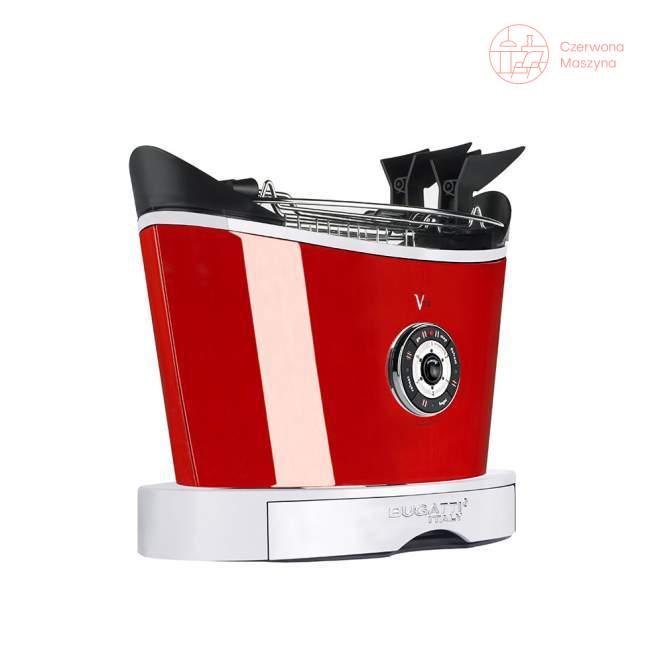 Toster Bugatti Volo czerwony