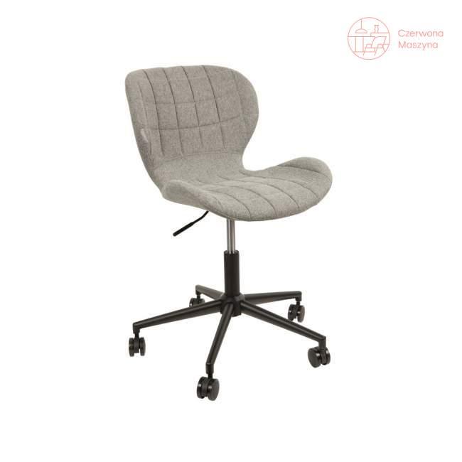 Krzesło obrotowe Zuiver OMG Office, szare