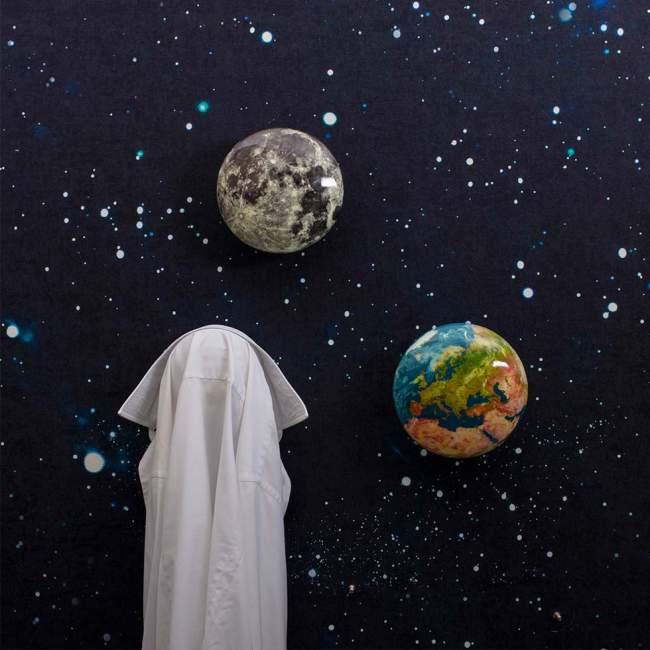 Wieszak ścienny Seletti Cosmic Diner, Ø 18 cm, Europe View