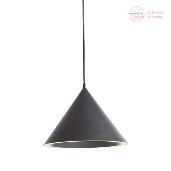 Lampa wisząca Woud Annular, czarna