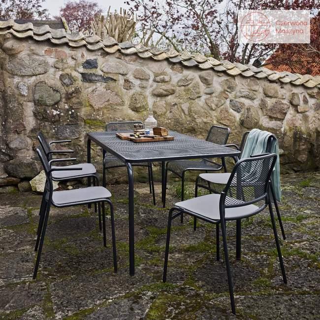 Krzesło Skagerak Mira antracytowe