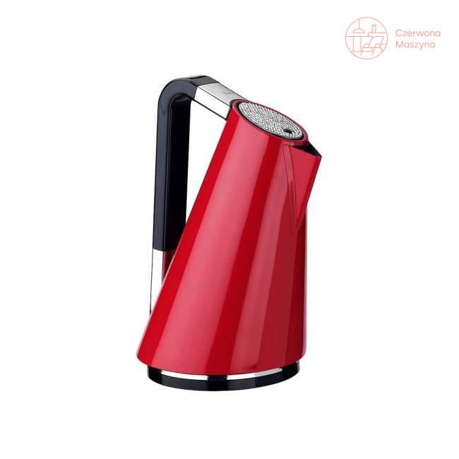 Czajnik elektryczny Bugatti Vera 1,7 l, czerwony, 252 kryształków Swarovskiego