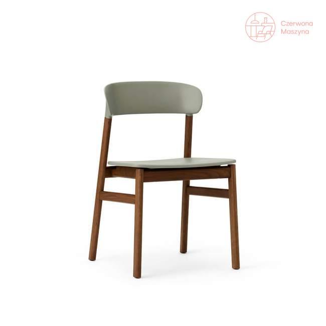 Krzesło Normann Copenhagen Herit smoked oak dusty green