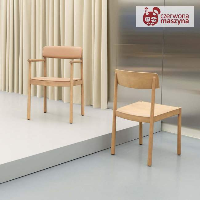 Krzesło Normann Copenhagen Timb Tan