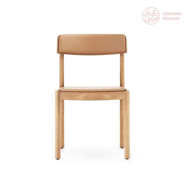 Krzesło Normann Copenhagen Timb Tan/Camel leather