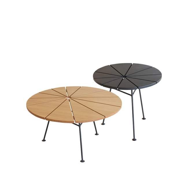 Stolik Kawowy OK Design Bam Bam Ø 70 cm, brązowy