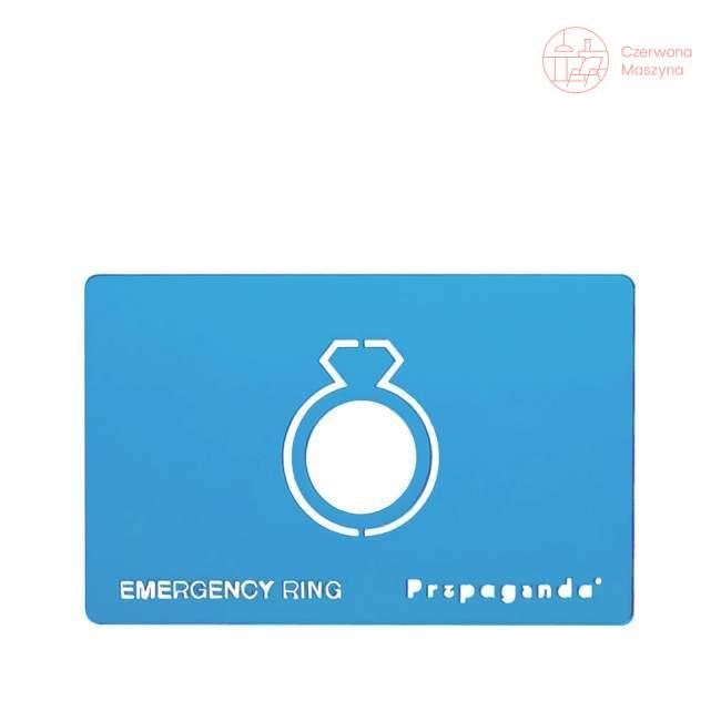 Pierścionek awaryjny Propaganda Emergency Ring Blue