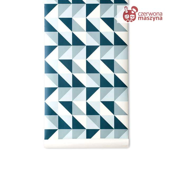 Tapeta ferm LIVING Remix Blue
