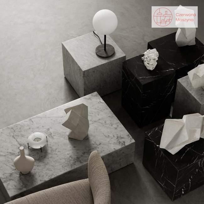 Lampa stołowa Menu TR Bulb, grey marble / matt opal