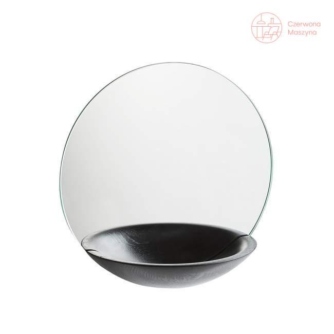 Lustro wiszące Woud Pocket Mirror duże czarne