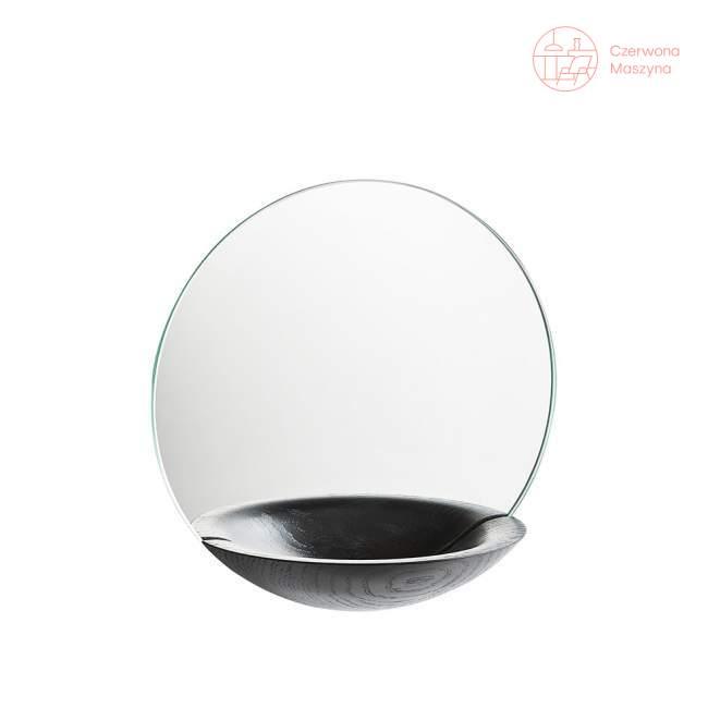 Lustro wiszące Woud Pocket Mirror małe czarne