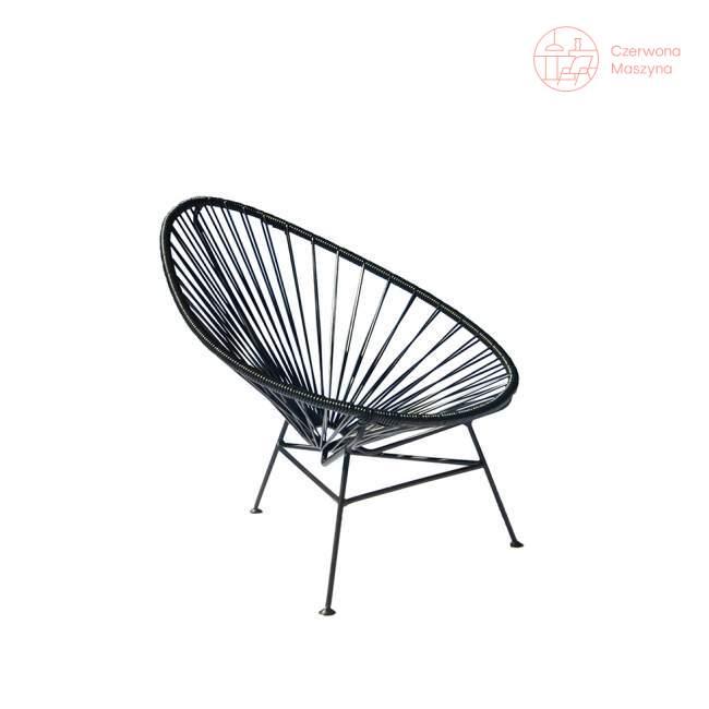 Fotel dla dziecka OK Design Acapulco mini, czarny