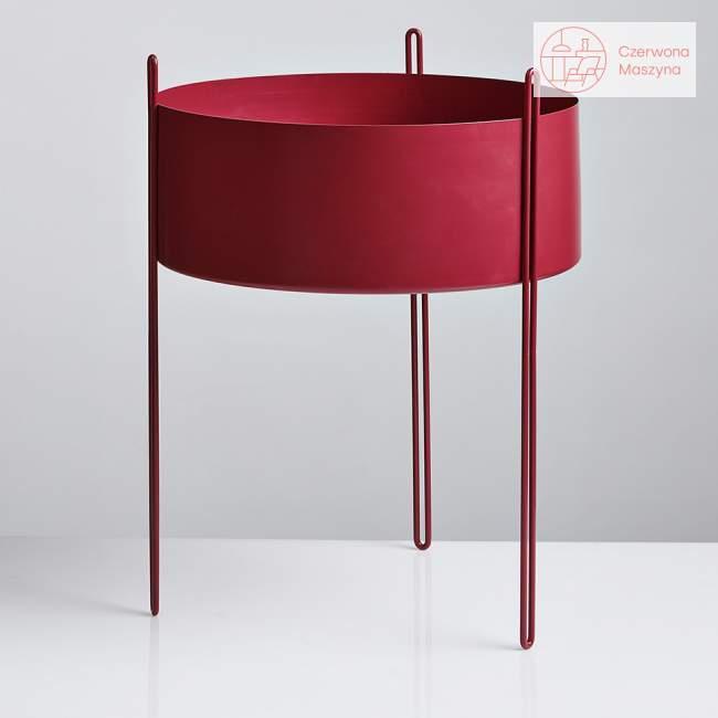 Kwietnik Woud Pidestall 55 cm, czerwony