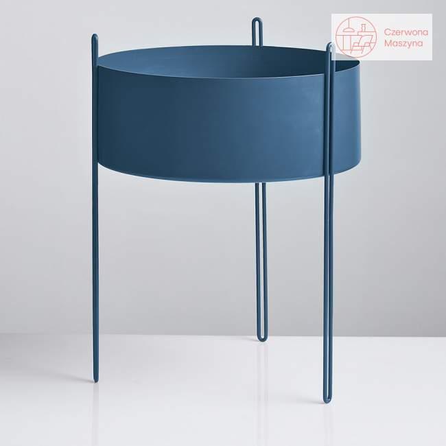 Kwietnik Woud Pidestall 55 cm, niebieski