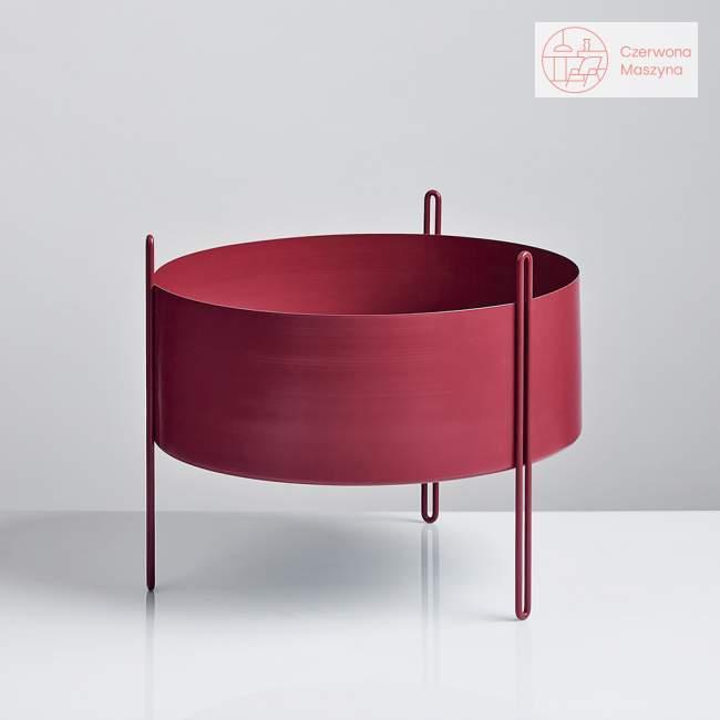 Kwietnik Woud Pidestall 35 cm, czerwony
