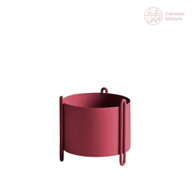 Osłonka na doniczkę Woud Pidestall czerwona