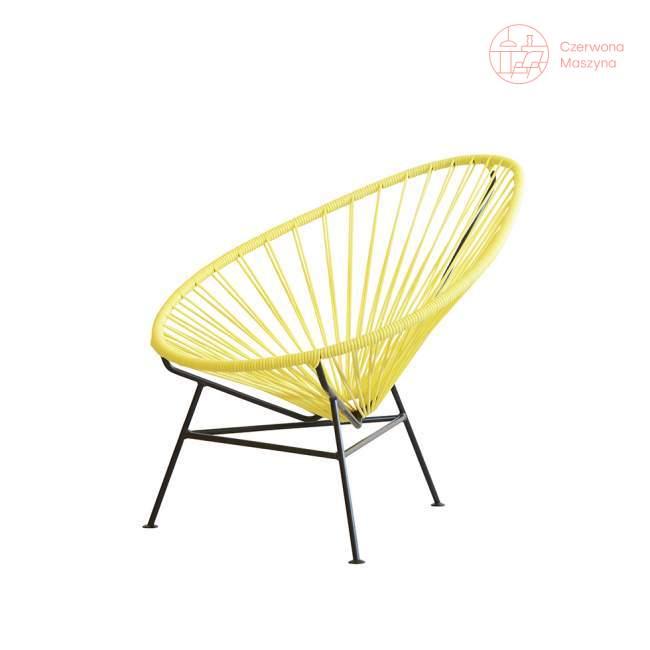 Fotel dla dziecka OK Design Acapulco mini, żółty
