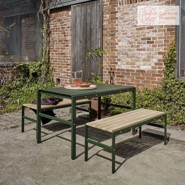 Ławka ogrodowa Skagerak Reform 43,5 cm, antracytowa