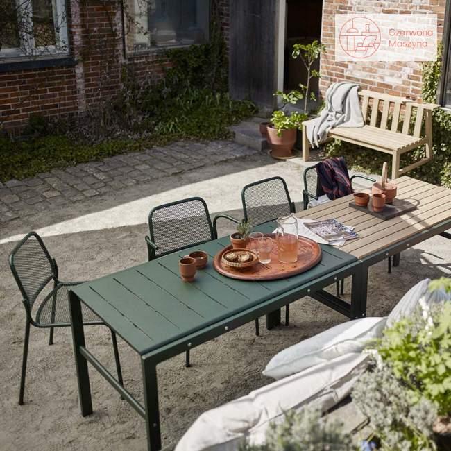 Stół ogrodowy Skagerak Reform 125 cm, antracytowy