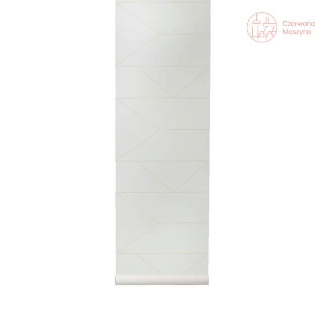Tapeta ferm LIVING Lines Off-white