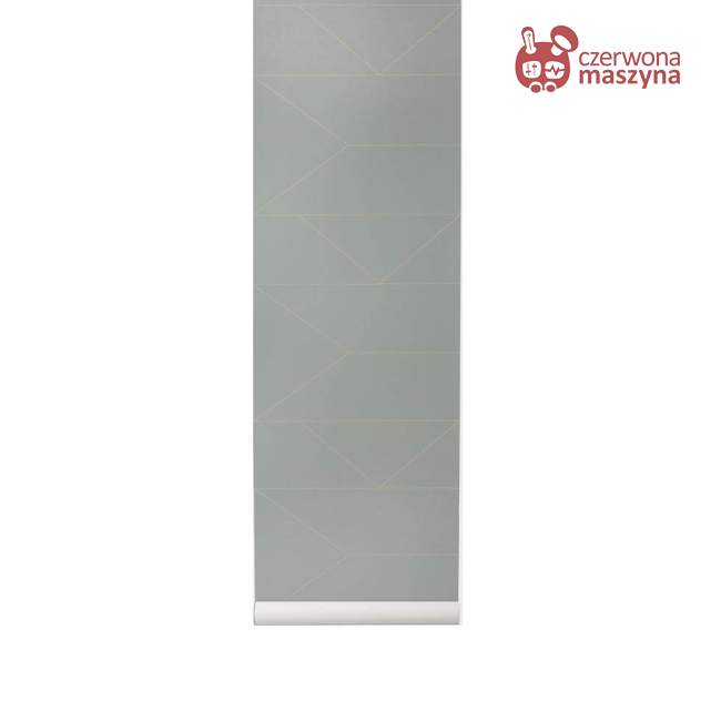 Tapeta ferm LIVING Lines Grey