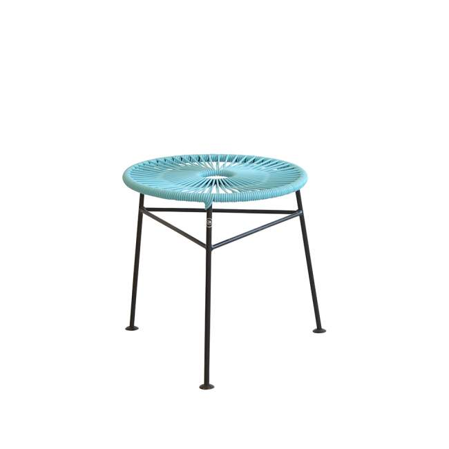 Taboret - stolik kawowy OK Design Centro Ø 42 cm, jasnoniebieski