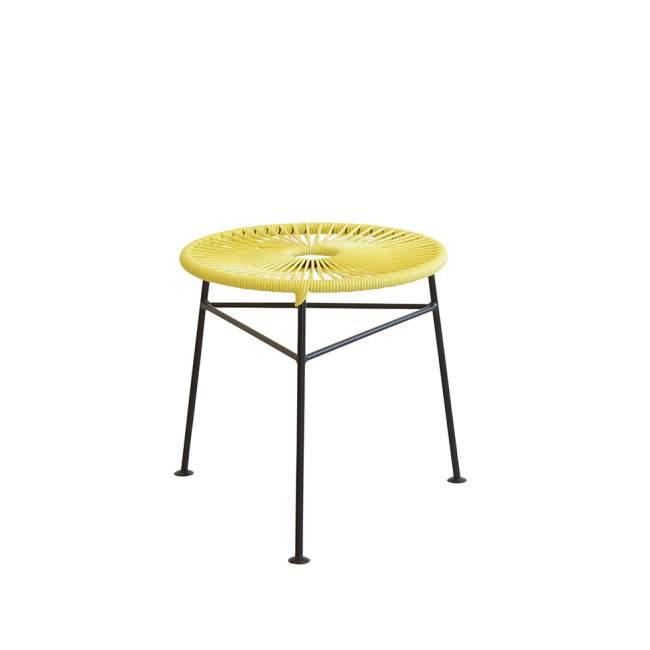 Taboret - stolik kawowy OK Design Centro Ø 42 cm, żółty