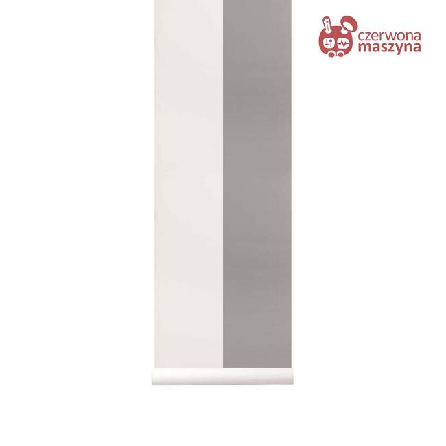 Tapeta ferm LIVING Thick Lines Grey/Off White