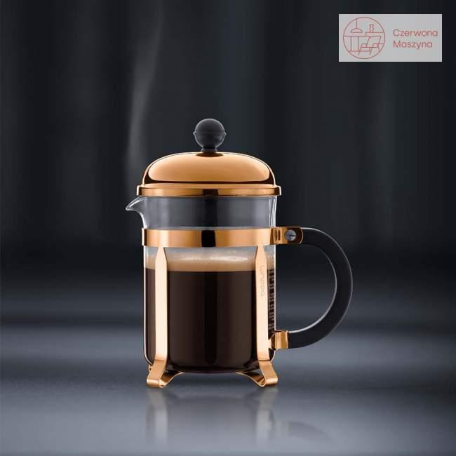 Zaparzacz do kawy french press Bodum Chambord 0,5 L złoty