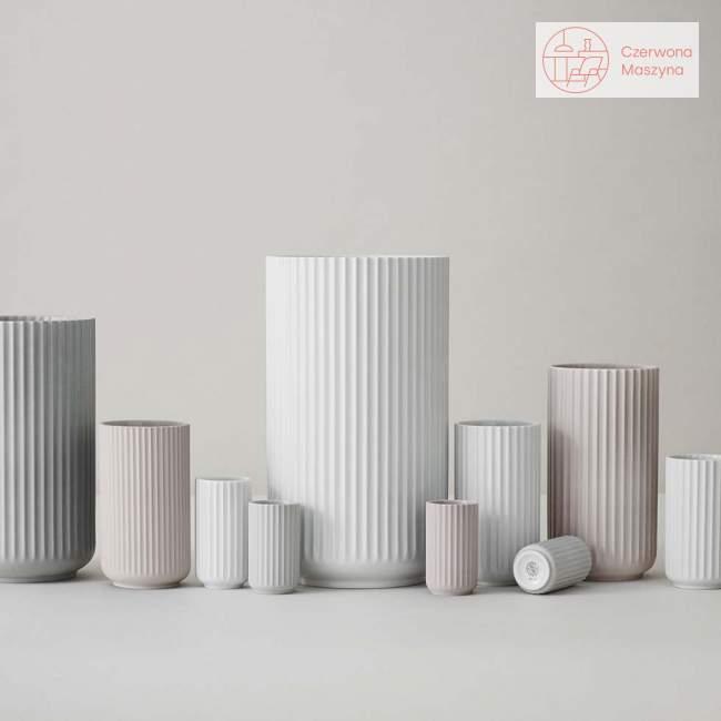 Wazon porcelanowy Lyngby 15 cm, matte white