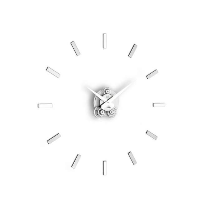 Zegar ścienny Incantesimo Design Illum statico Ø 80 cm, metal