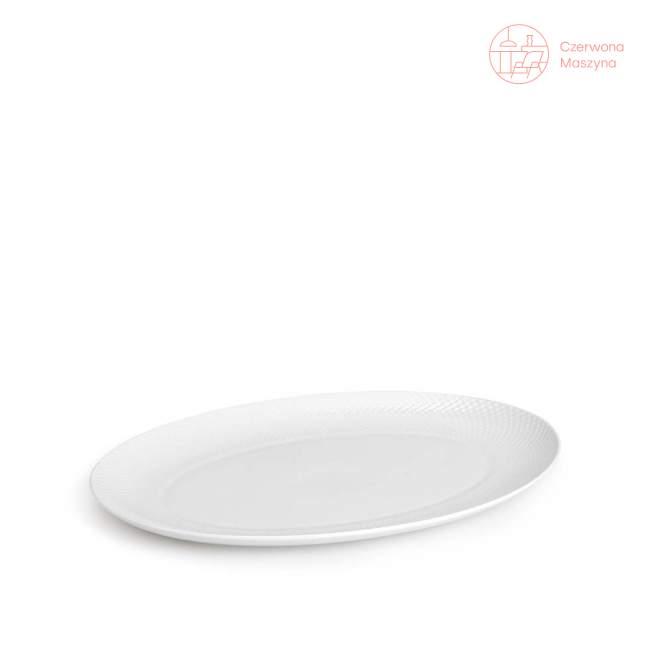 Talerz do serwowania Lyngby Rhombe 42 x 32 cm, white