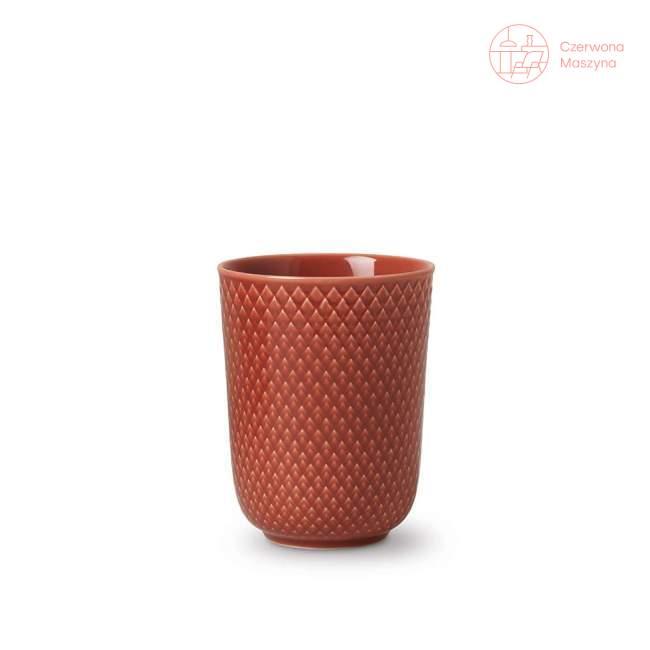 Kubek Lyngby Rhombe 330 ml, terracotta