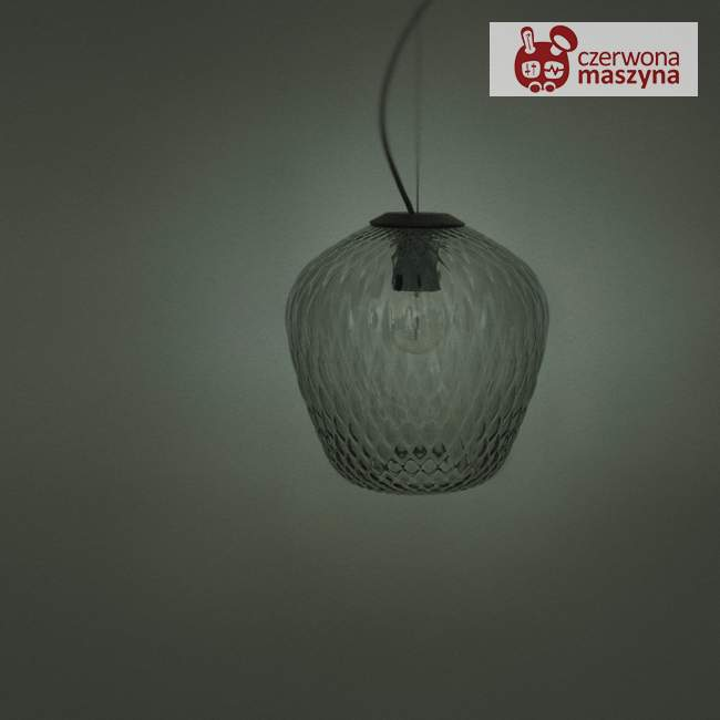 Lampa &tradition Blown SW3, srebrna