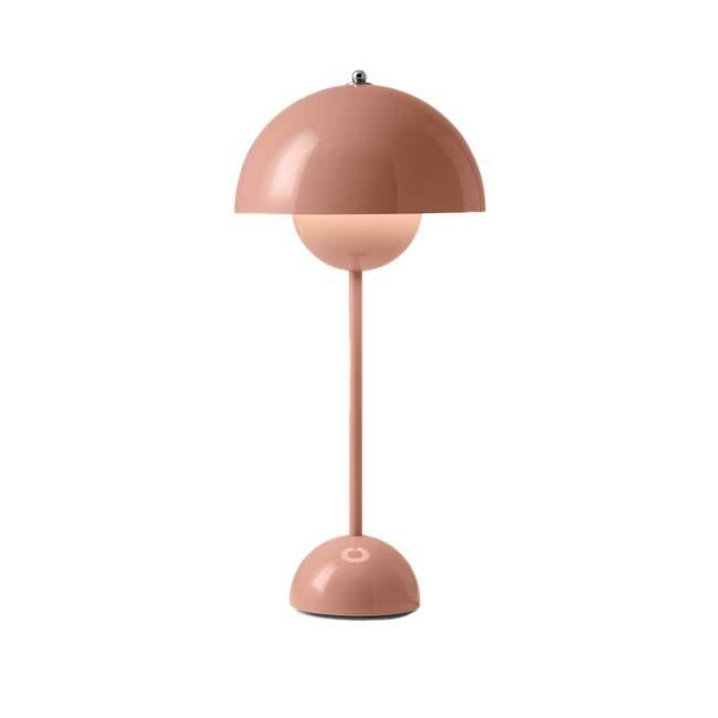Lampa stołowa &tradition Flowerpot VP3 Ø 23 cm, jasny róż