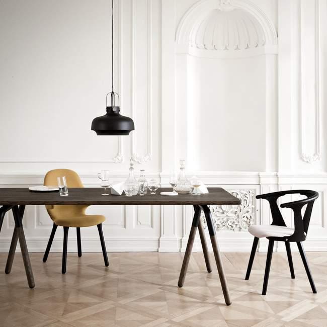 Lampa wisząca &tradition Copenhagen SC7 Ø 35 cm, czarna