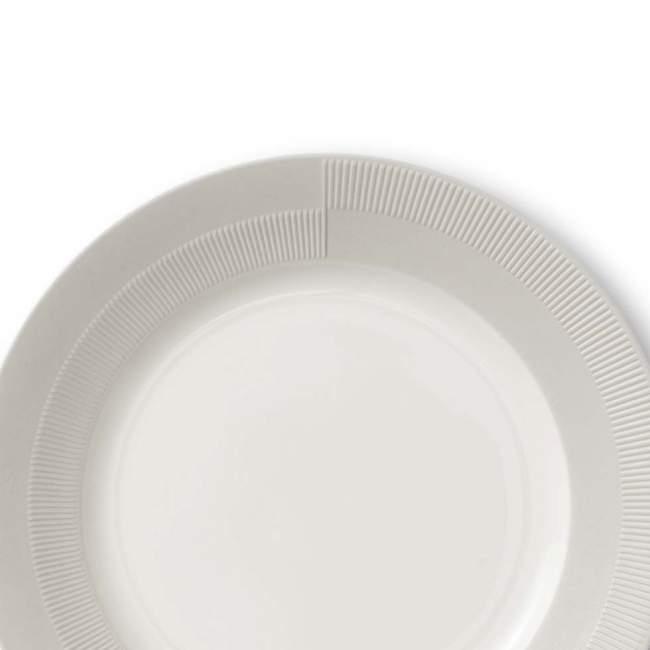 Talerz obiadowy Rosendahl Duet Ø 27 cm, szarobeżowy