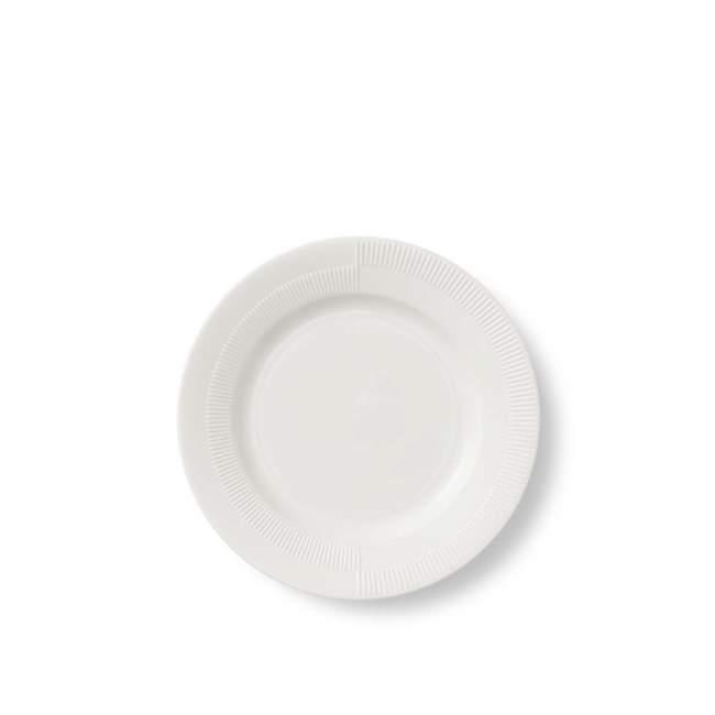 Talerz deserowy Rosendahl Duet Ø 19 cm, biały