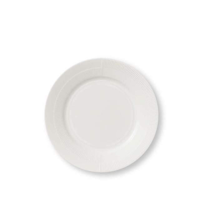 Talerz deserowy Rosendahl Duet Ø 23 cm, biały