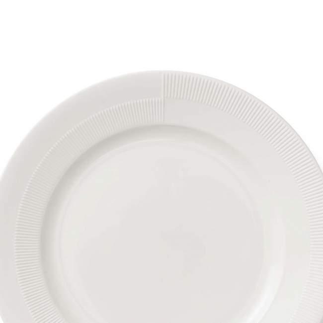 Talerz obiadowy Rosendahl Duet Ø 27 cm, biały