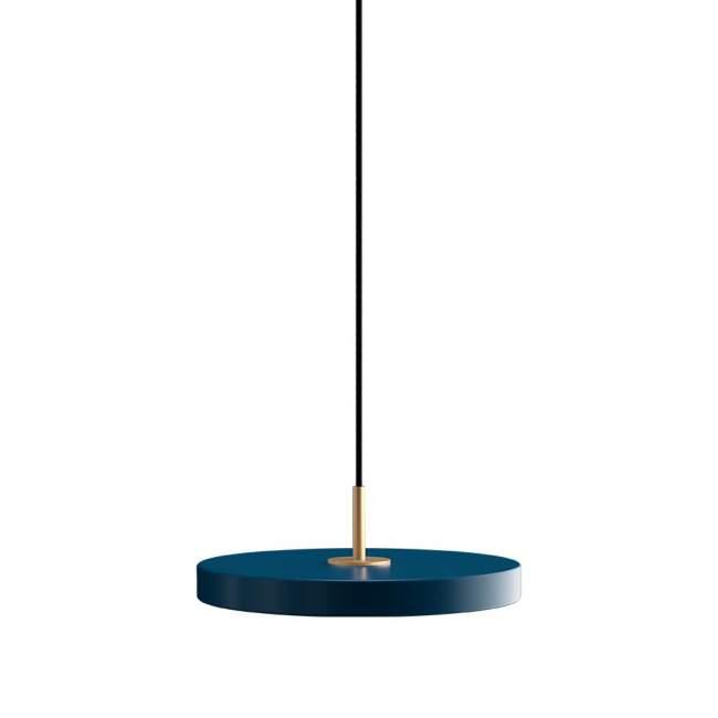 Lampa wisząca Umage Asteria Mini Ø 31 cm, lazurowa