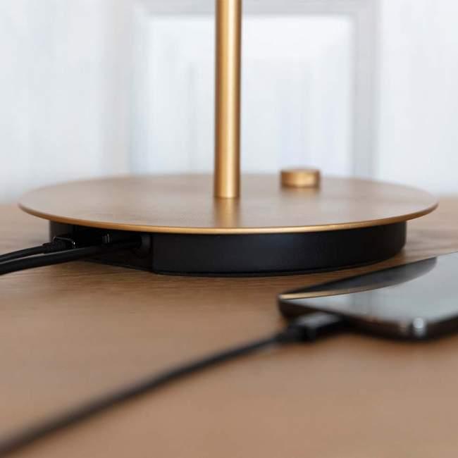 Lampa stołowa Umage Asteria Table Ø 31 cm, perłowa