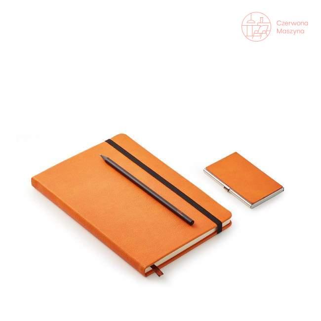 Zestaw biznesowy Philippi Notes, pomarańczowy