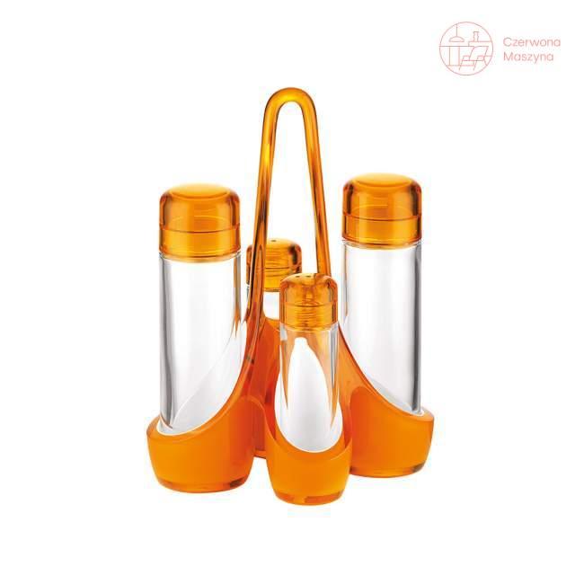 Zestaw do przypraw Guzzini Mirage pomarańczowy