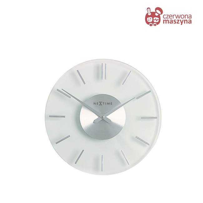 Zegar ścienny NeXtime Shiny Moon 26 cm