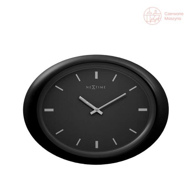 Zegar ścienny czarny 40 cm