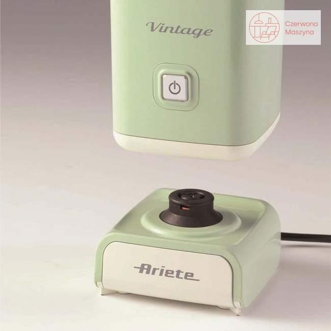 Spieniacz do mleka Ariete Vintage 140 ml, niebieski